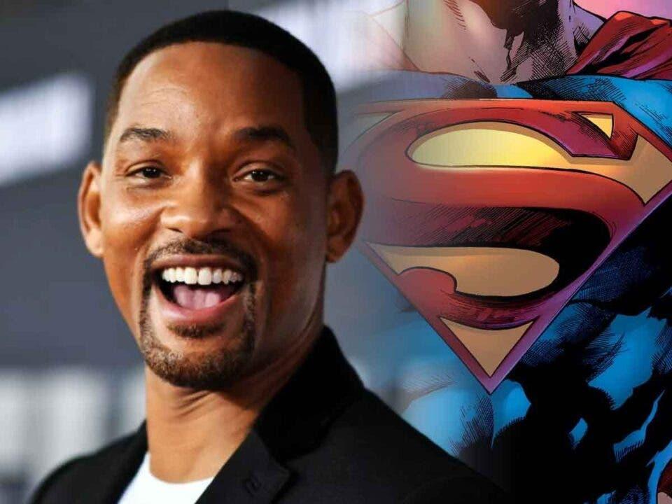 Espectacular Fan Art de Will Smith como Superman