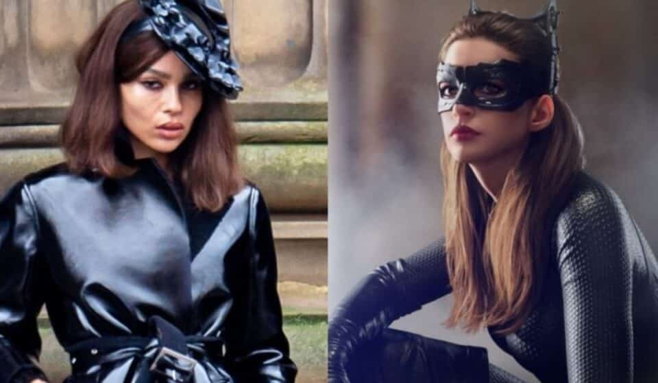 The Batman: Anne Hathaway le dio grandes consejos a Zoe Kravitz