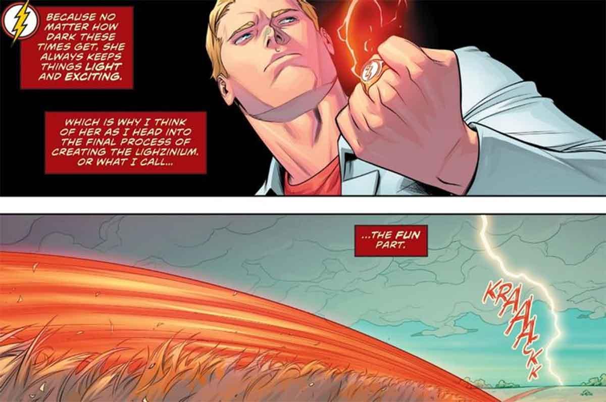Flash copia a Iron Man de Marvel Studios
