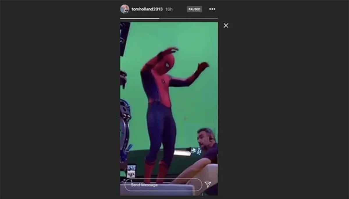Tom Holland comparte la primera imagen de Spider-Man 3