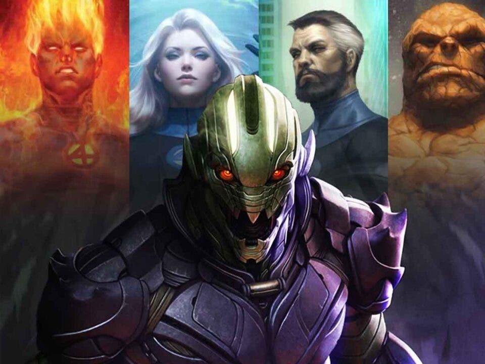 Los Cuatro Fantásticos llegarán a Marvel Studios junto a un gran villano