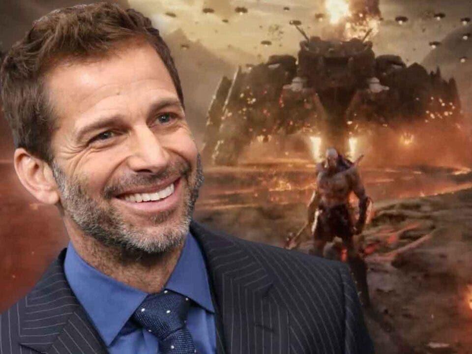 Zack Snyder confirma el espectacular aspecto de Darkseid