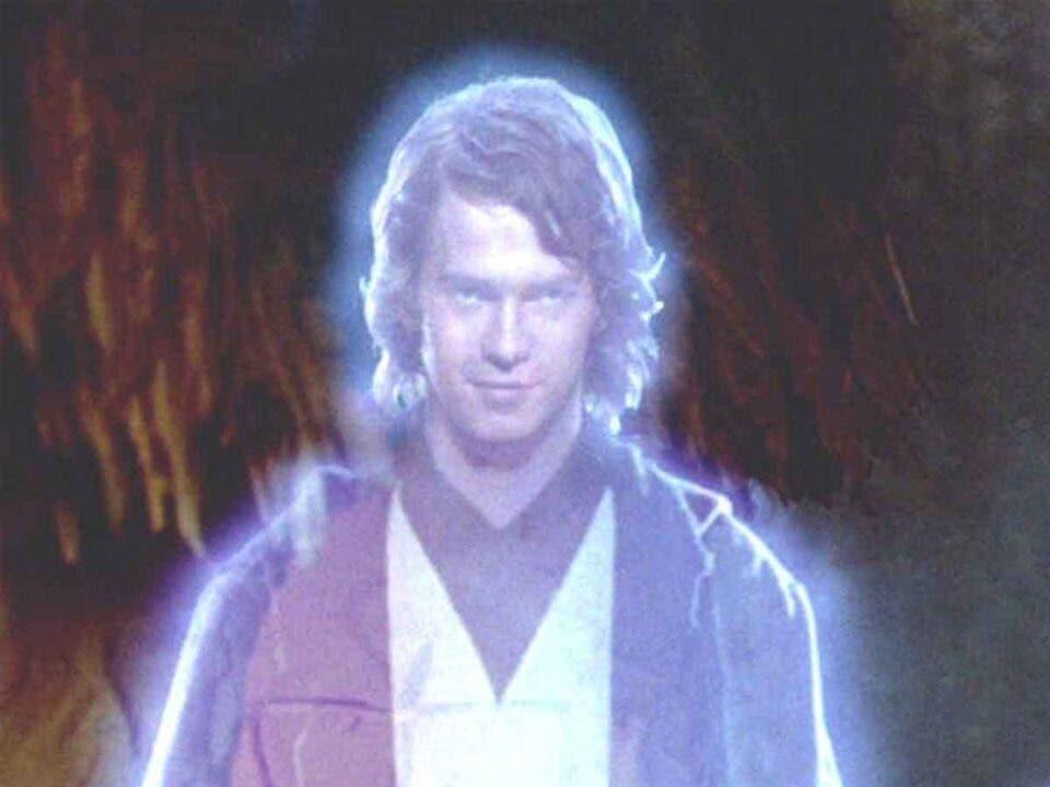 Anakin Skywalker casi aparece en Star Wars: Los últimos Jedi (2017)