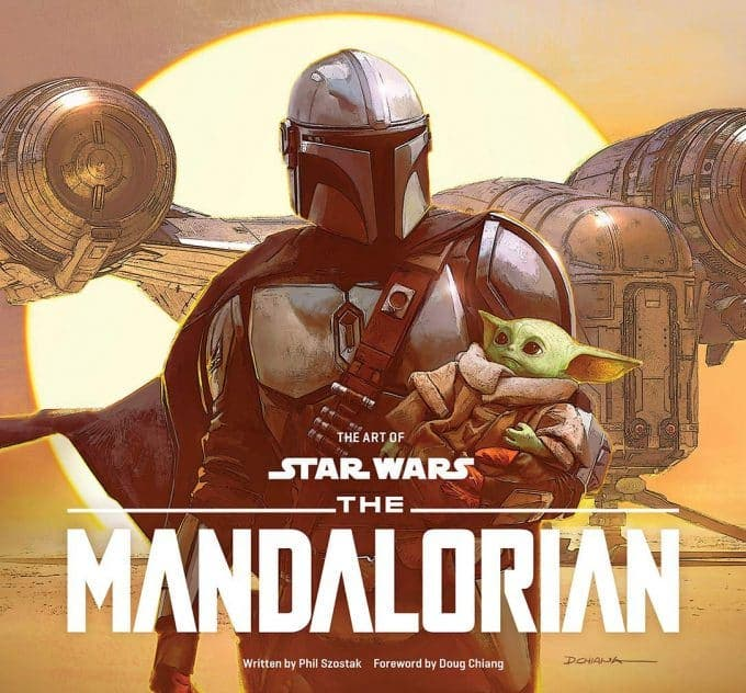 Portada Art of Star Wars: The Mandalorian Season One-01
