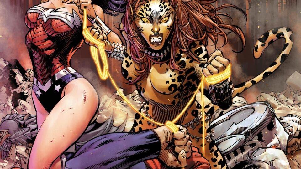 Wonder Woman 1984: La gran metedura de los títulos de crédito - Cheetah DC Comics