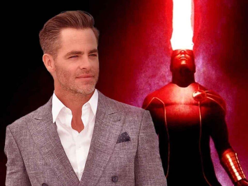 Espectacular Fan Art de Chris Pine como Cíclope de los X-Men
