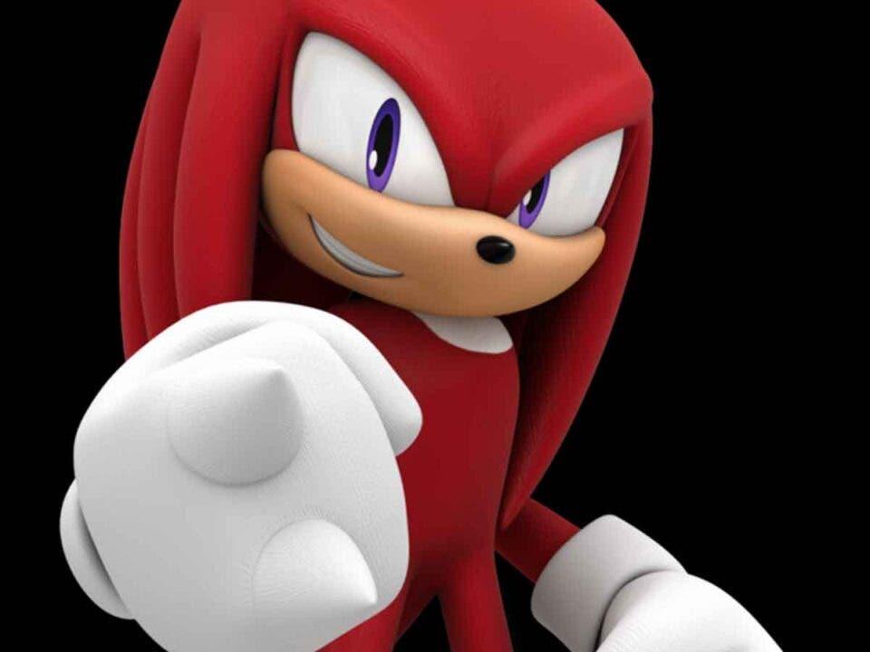 Filtran el papel de Knuckles en Sonic 2