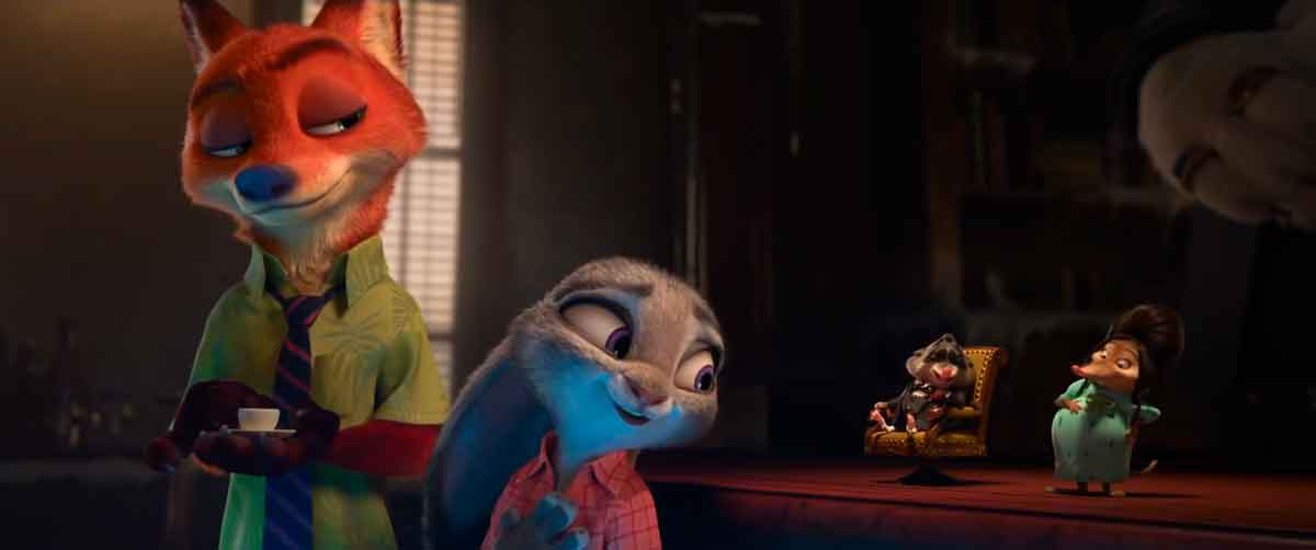 Fru Fru en Zootopia series de animación Disney +