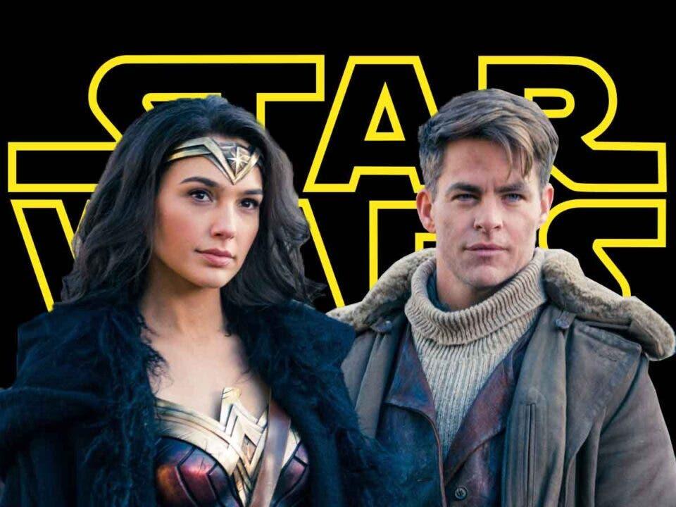 Gal Gadot y Chris Pine podrían fichar por Star Wars