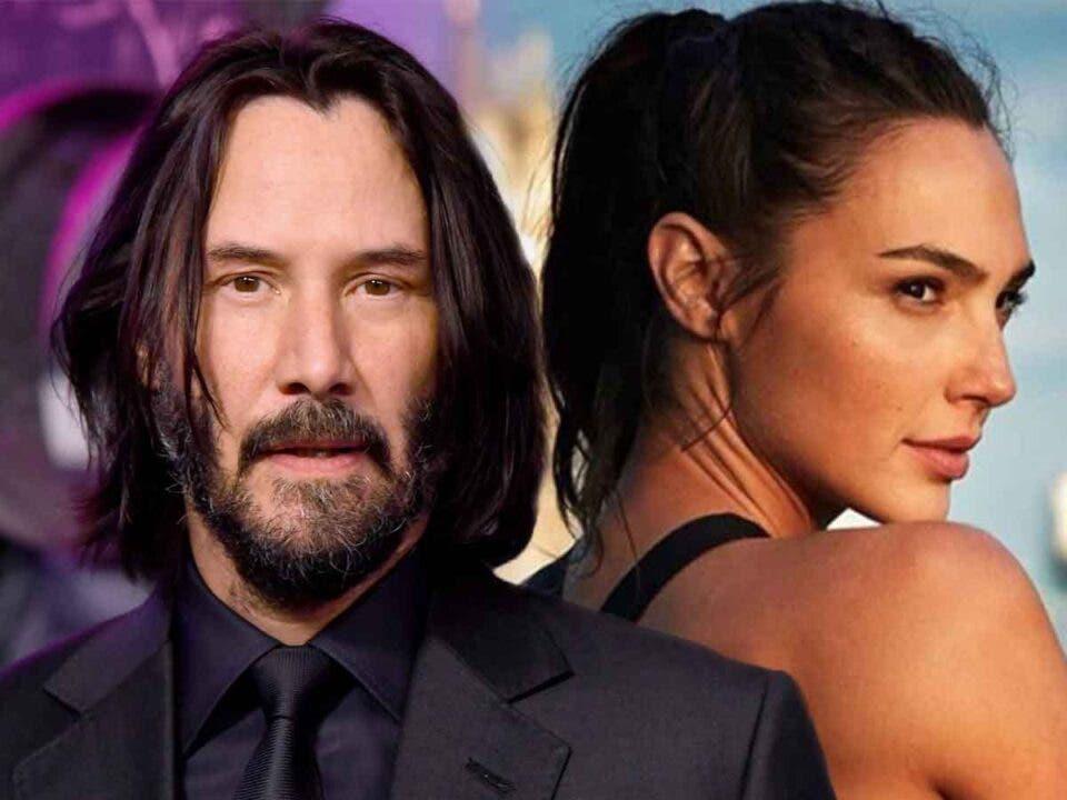 Keanu Reeves está enfadado Warner Bros por culpa de Gal Gadot