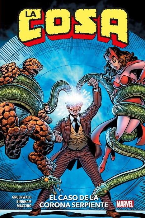 MARVEL HC La Cosa: El caso de la Corona Serpiente