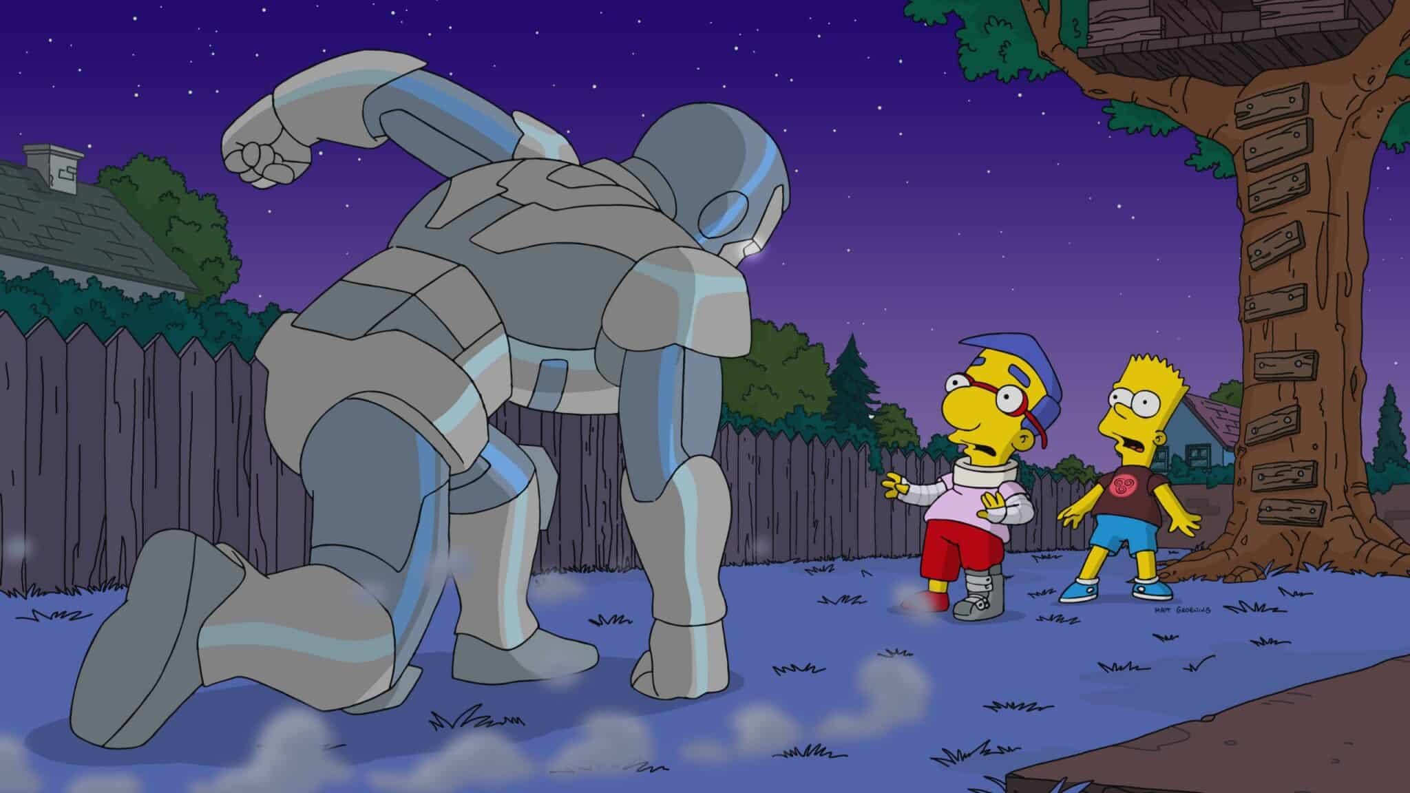 Los Simpson Temporada 31 disney +