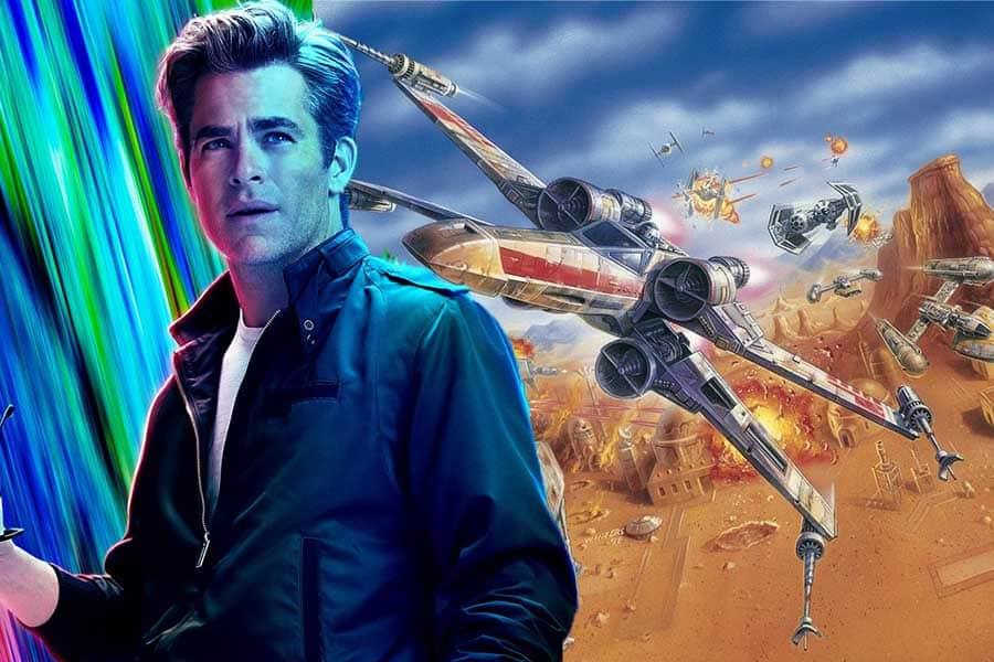 Chris Pine ya conoce la trama de Star Wars: Rogue Squadron