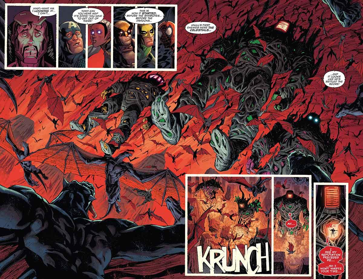 Marvel revela quien derrotó a los Celestiales