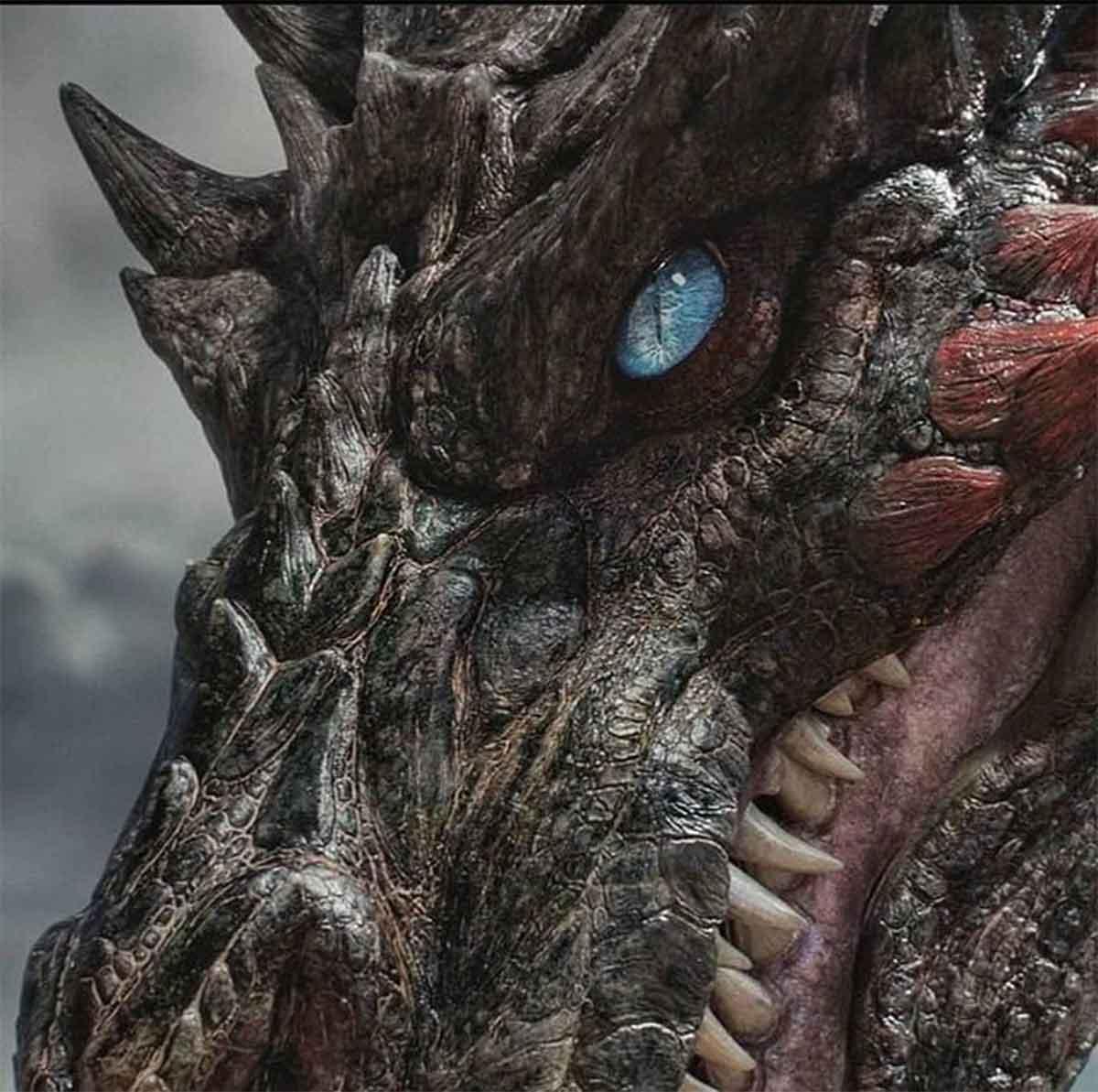 Primera imagen del impactante dragón de la precuela de Juego de Tronos