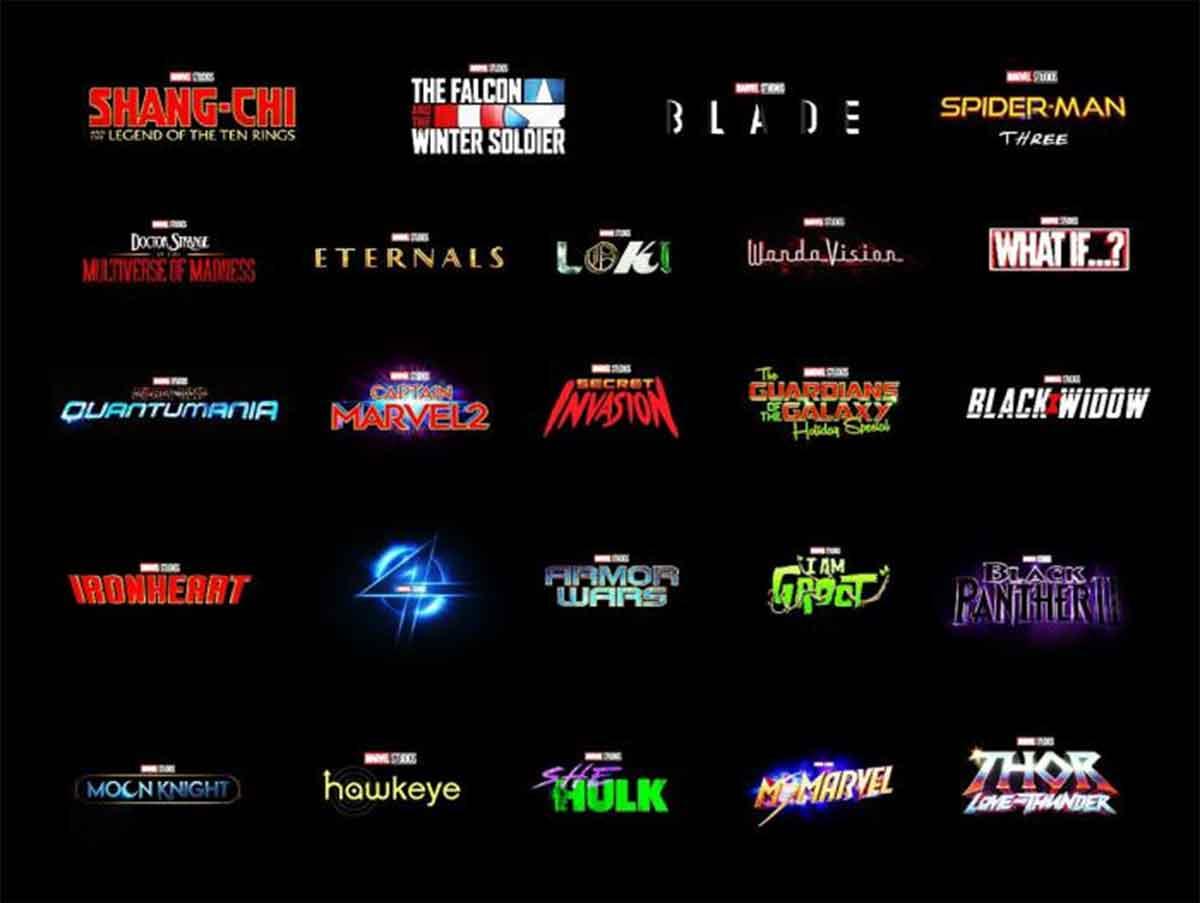 Estrenos Marvel Studios