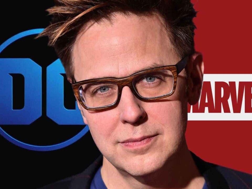 El loco crossover Marvel / DC Comics que plantea James Gunn
