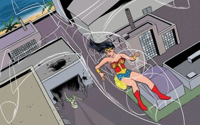 jet invisible Wonder Woman