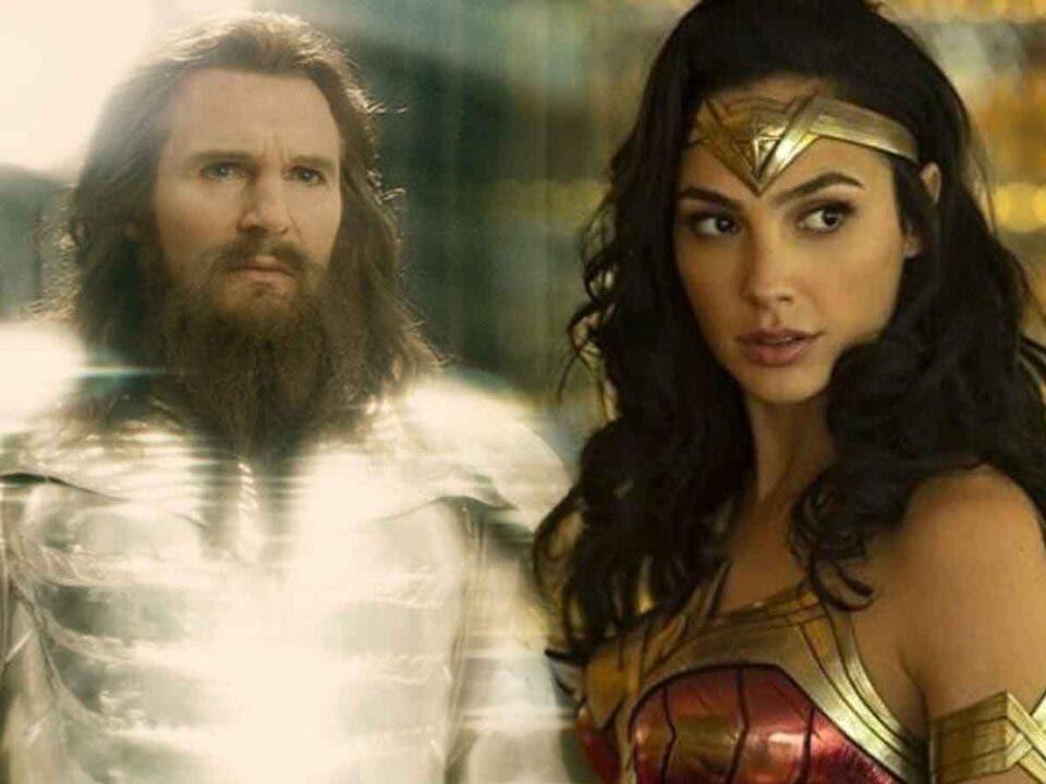 Liam Neeson podría vovler a ser Zeus en Wonder Woman 3