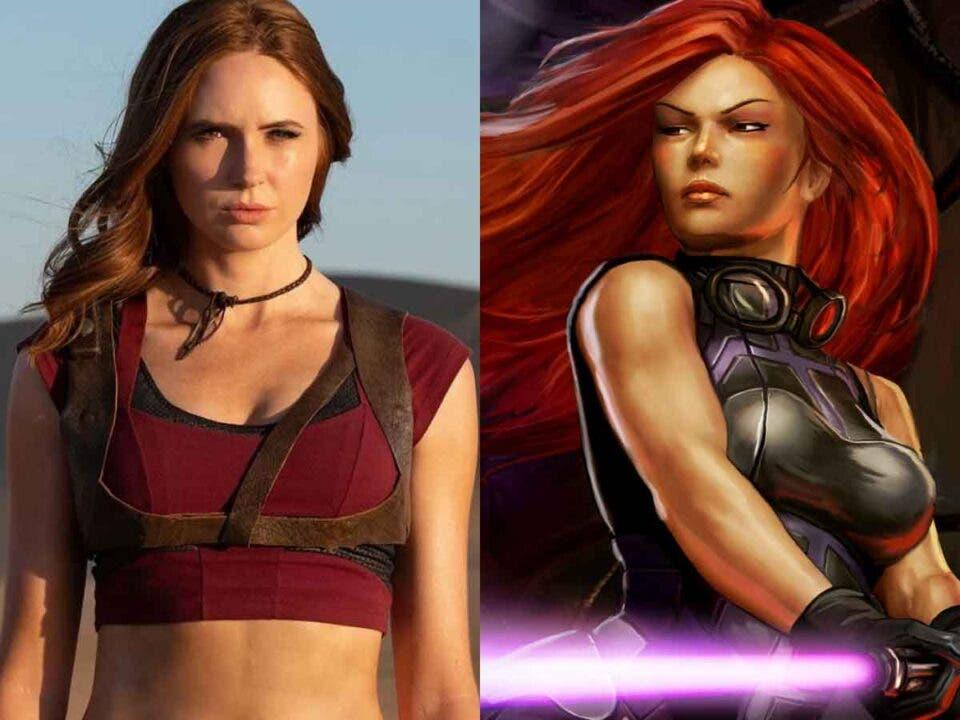 Karen Gillan podría fichar por Star Wars para un personaje espectacular