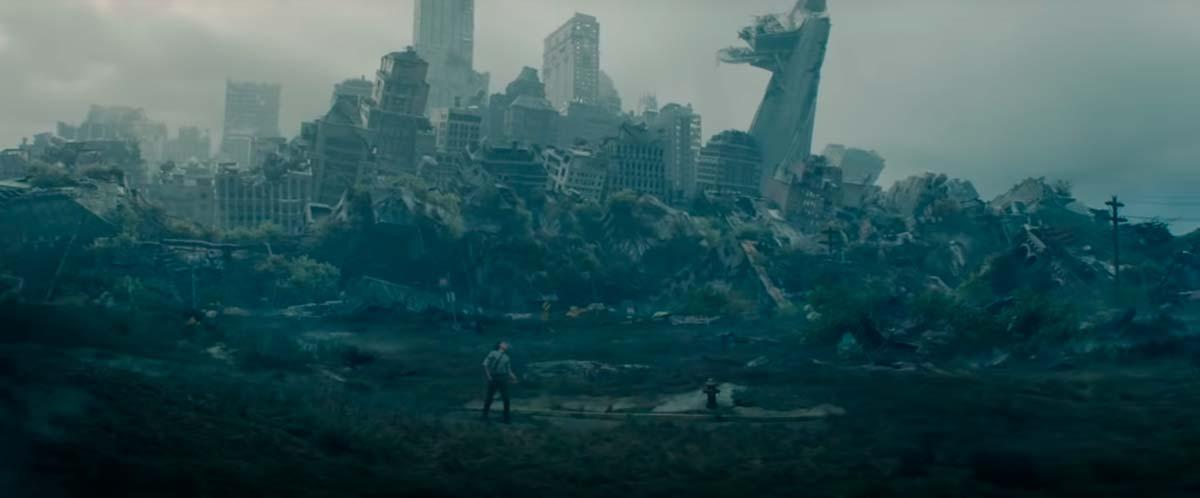 nueva york destruida Loki