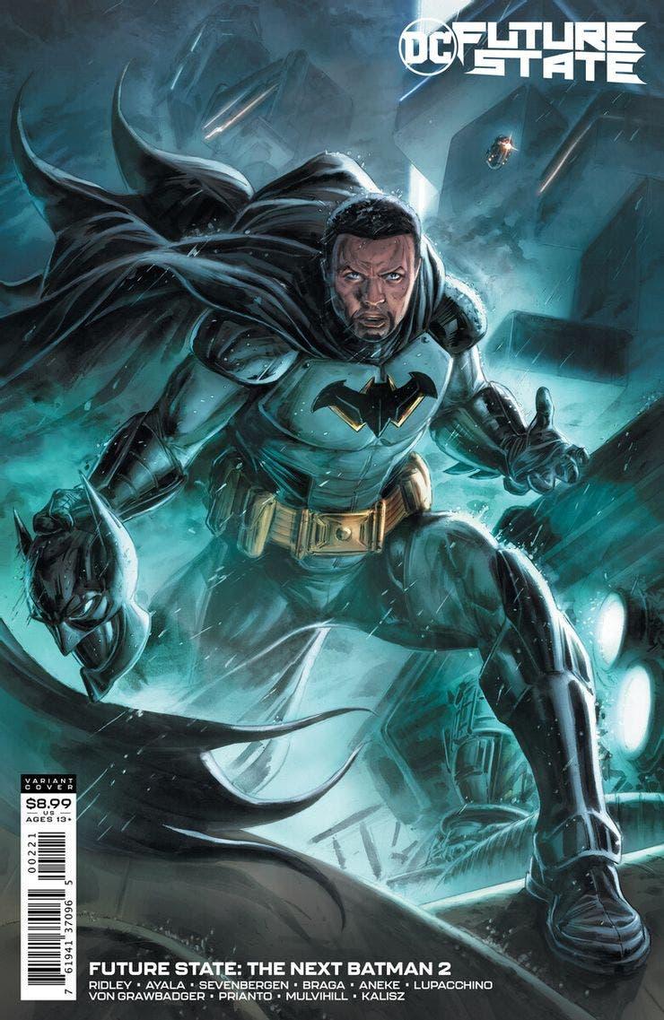 portada de Future state the Next batman