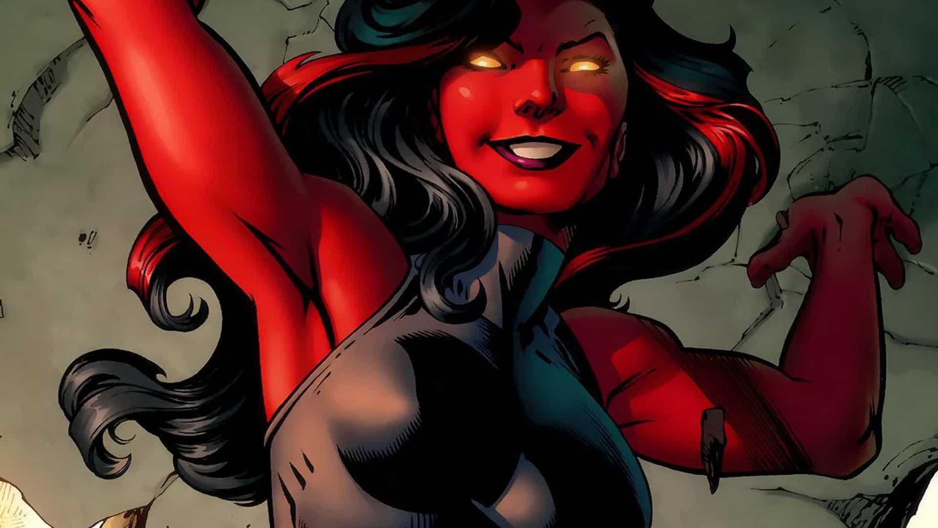 she-hulk red