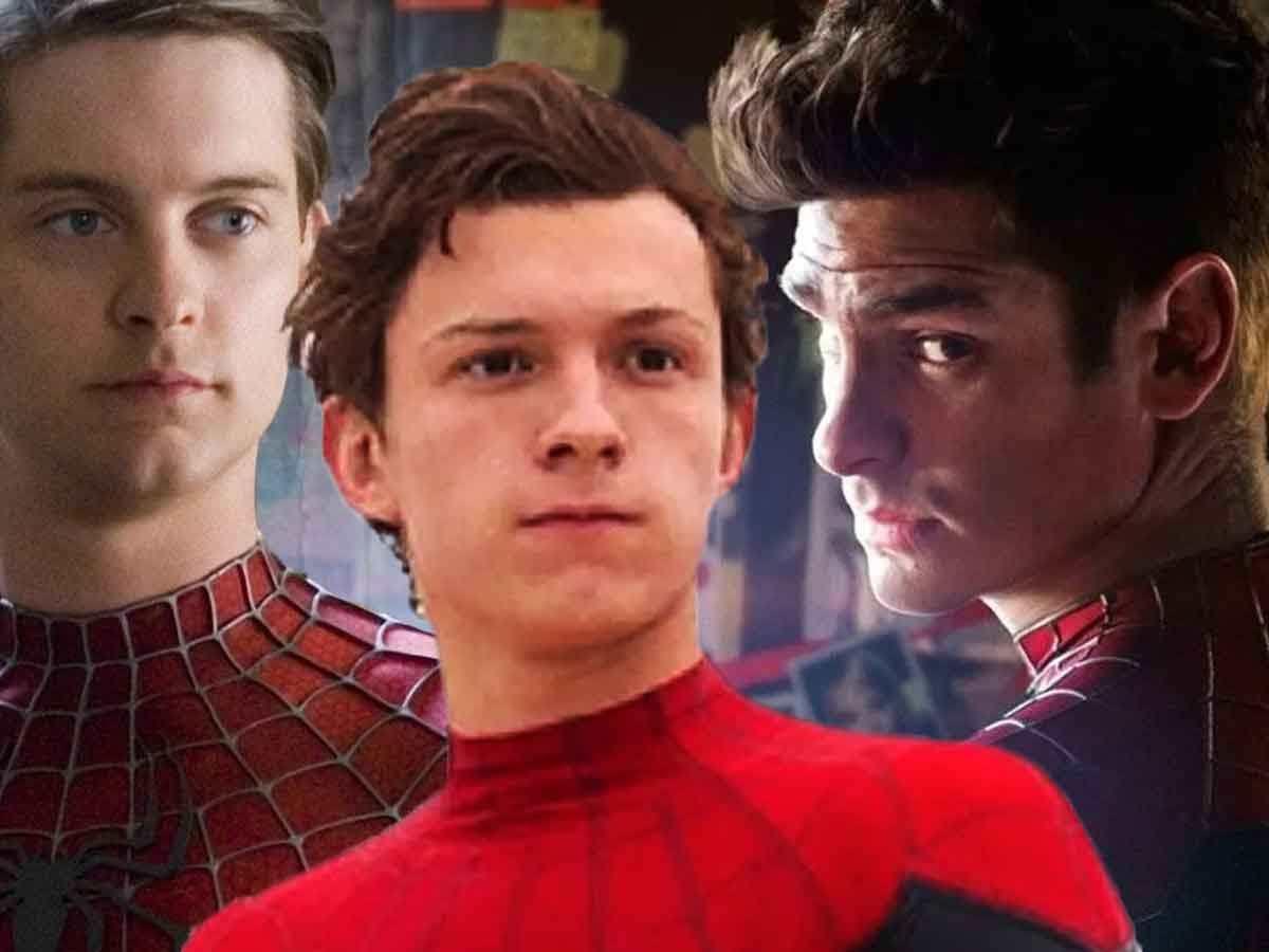 Tom Holland's take on sharing Spider-Man with Andrew Garfield and Tobey Maguire