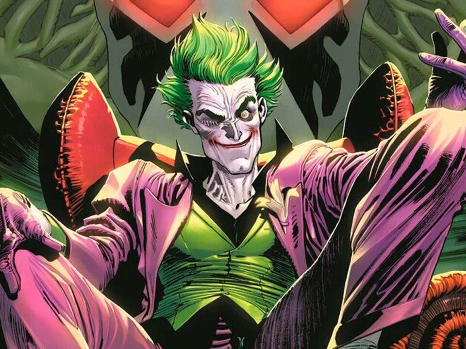 the Joker Nº 01de DC Comics