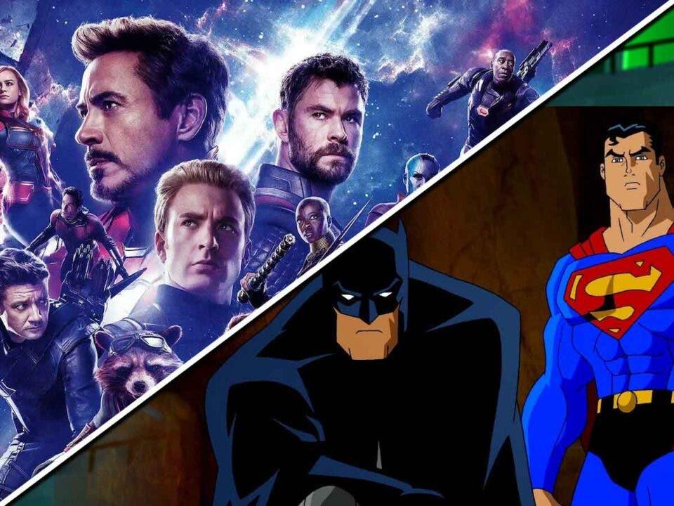Vengadores: Endgame copia a una película de DC Comics