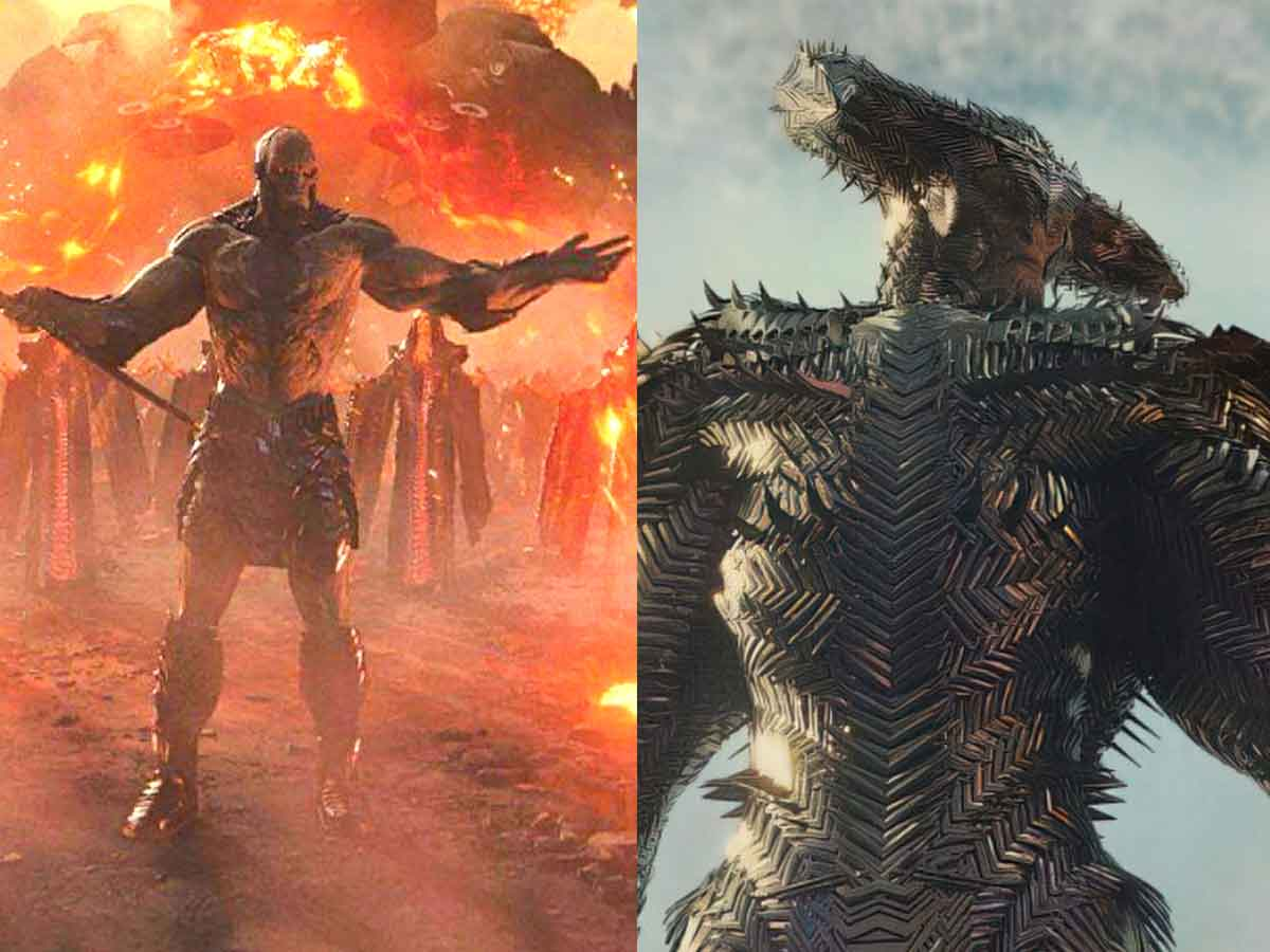 Brutales nuevas imágenes de Steppenwolf y Darkseid de Liga de la Justicia