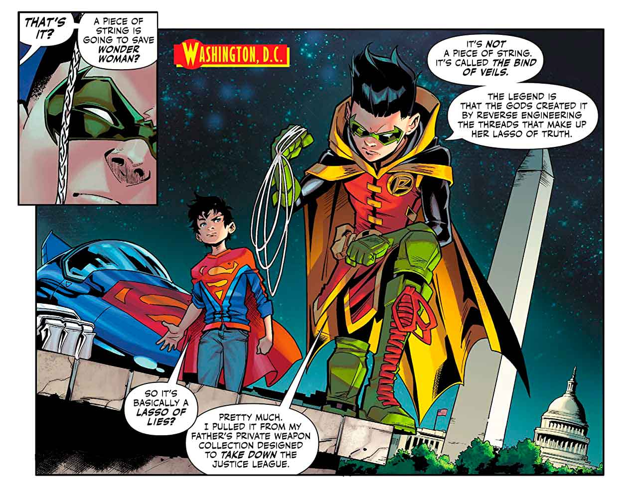 Challenge of the Super Sons 3