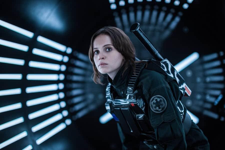 Felicity Jones cuenta que escena de Rogue One grabaron durante una semana