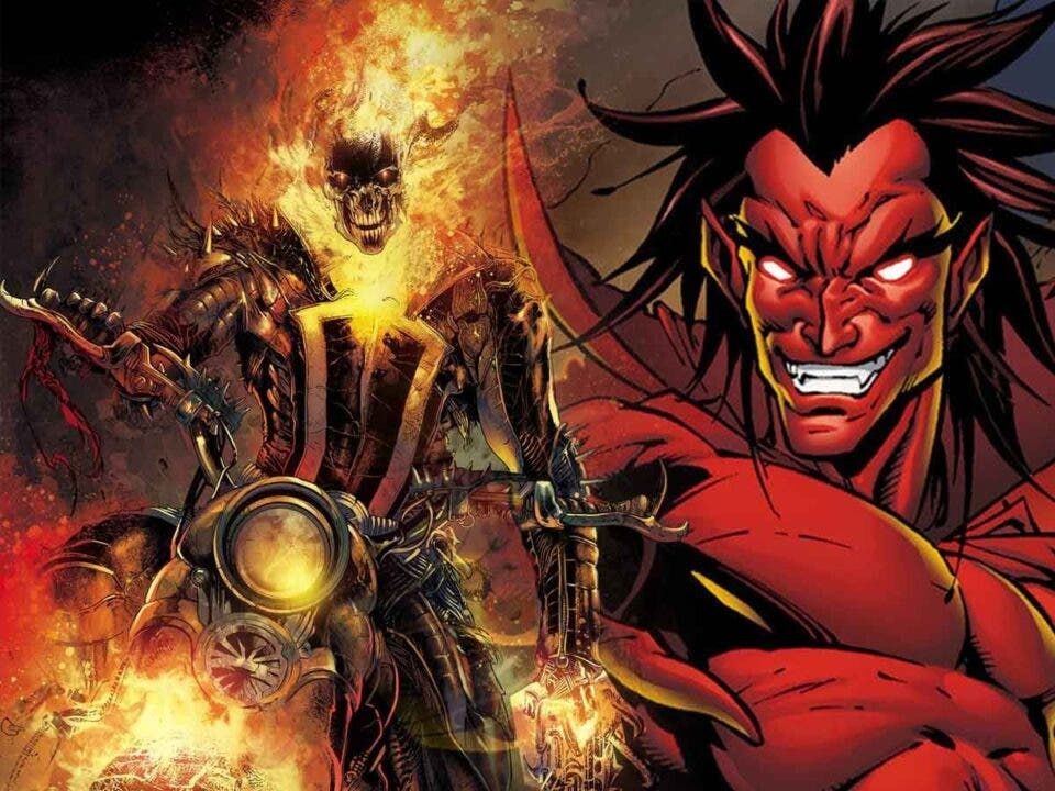 Ghost Rider vs Mephisto es la nueva locura que planea Marvel Studios