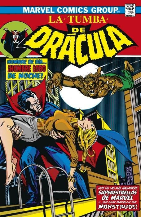 Biblioteca Drácula. La Tumba de Drácula 3 de 10 ¡Contra el Hombre Lobo!