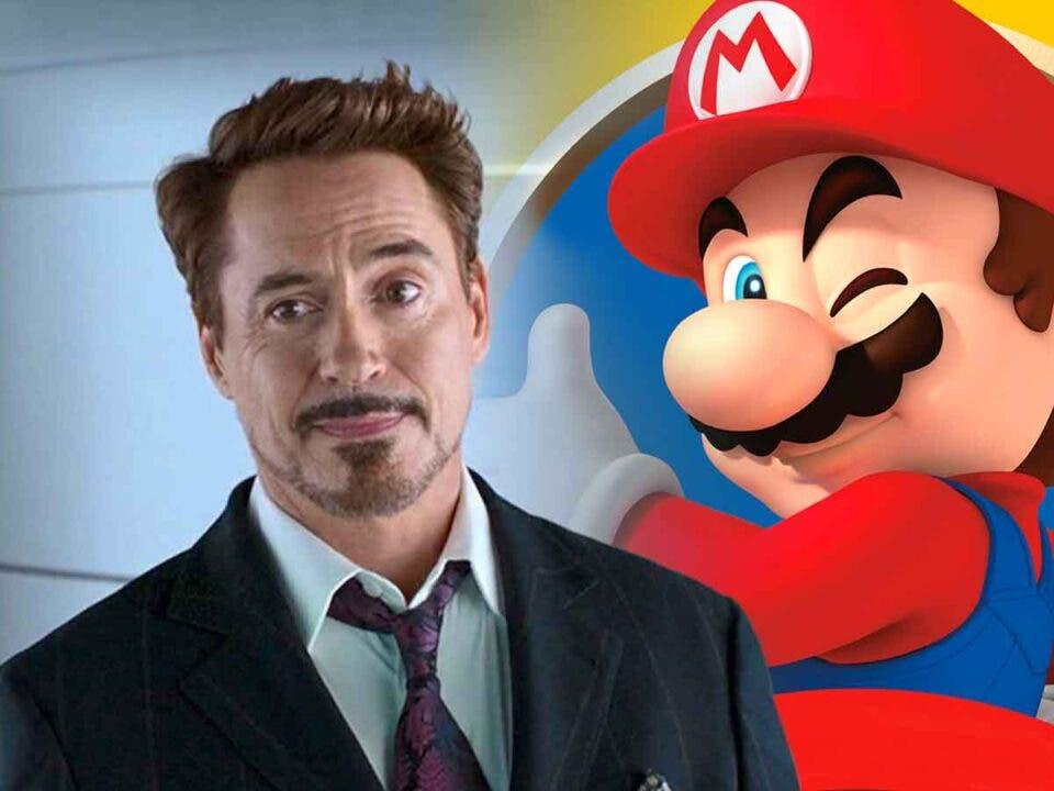 Robert Downey Jr podría fichar por la película Super Mario Bros