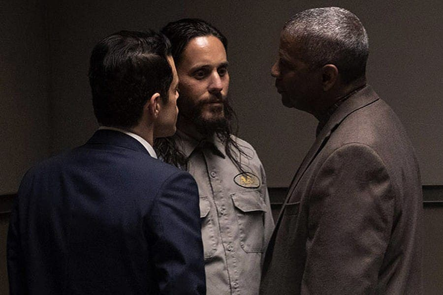 The Little Things: Denzel Washington mantuvo bajo control a Jared Leto