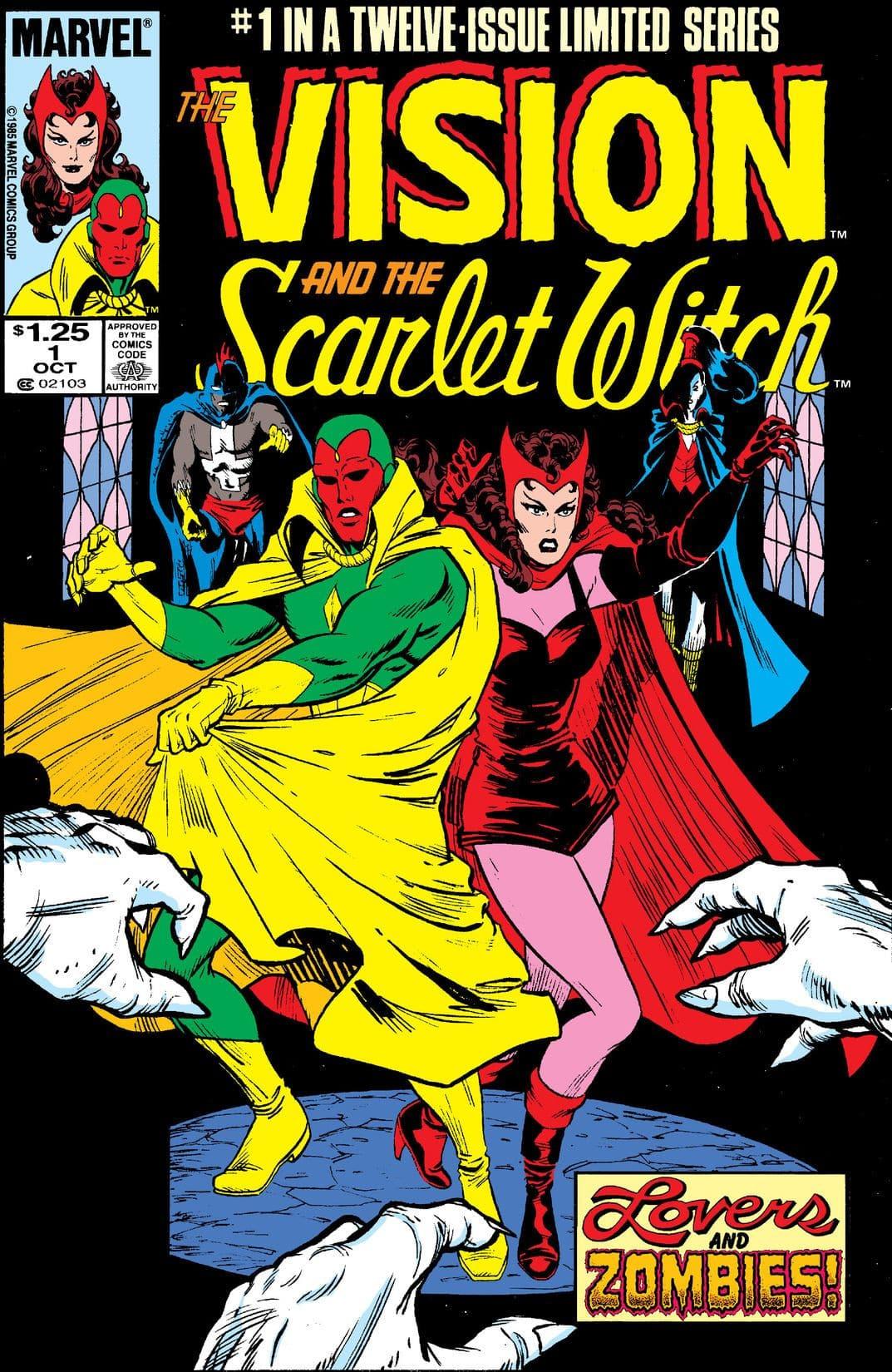 8 cómics que tienes que leer antes de ver WandaVision. Vision and the Scarlet Witch Vol 2 N1