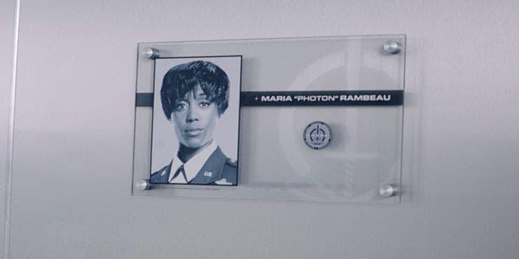 WandaVision Placa Maria Rambeau SWORD