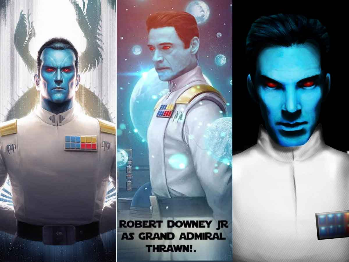 Star Wars prepara una película de El Gran Almirante Thrawn