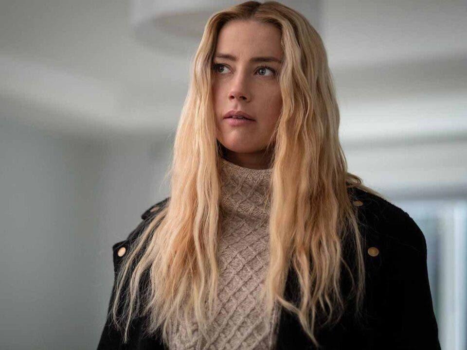 Amber Heard afirma que es muy buena interpretando villanas