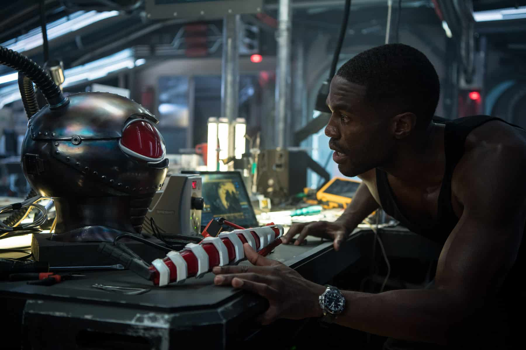 Yahya Abdul-Mateen II ya se prepara como Black Manta para Aquaman 2