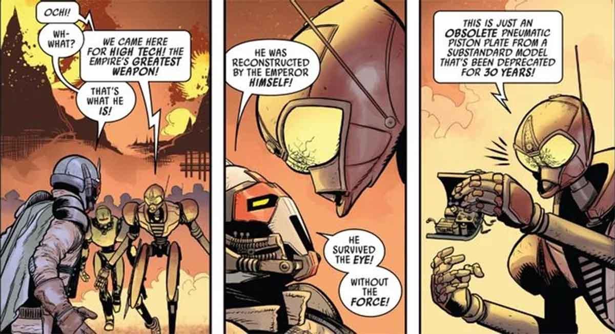 Star Wars revela la triste verdad sobre la armadura de Darth Vader