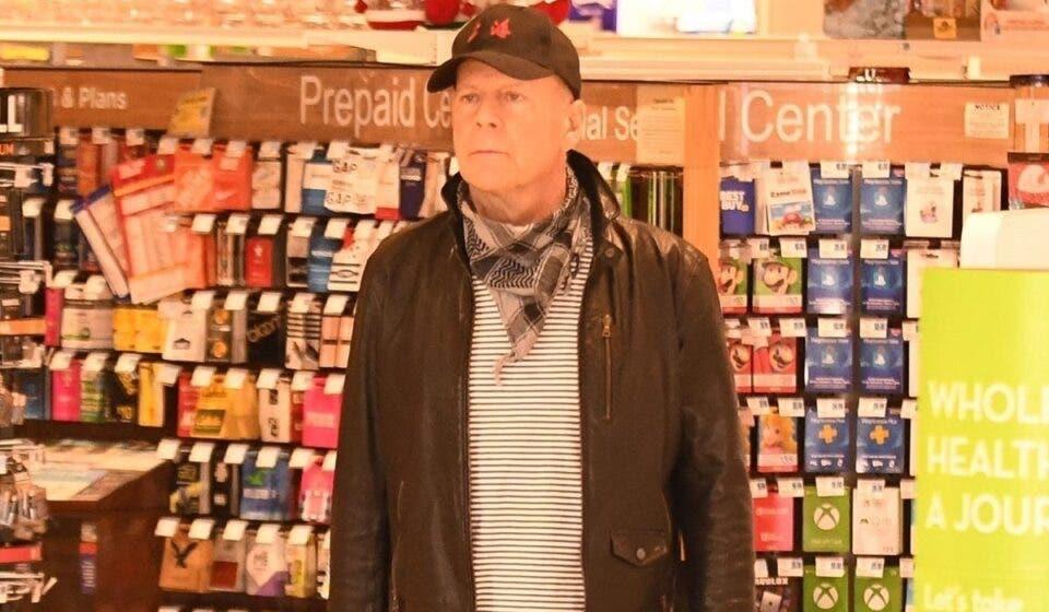 Bruce Willis fue echado de una tienda por no usar mascarilla