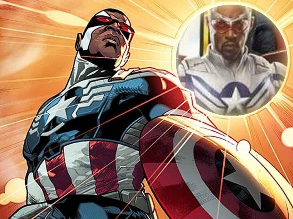 Filtran el traje de Capitán América que usará Falcon