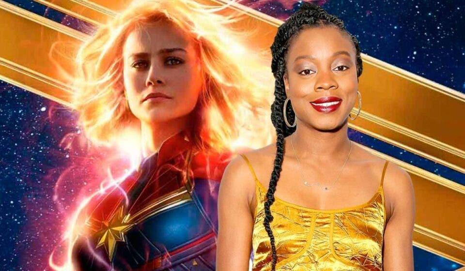 Brie Larson elogió a la directora de Capitana Marvel 2