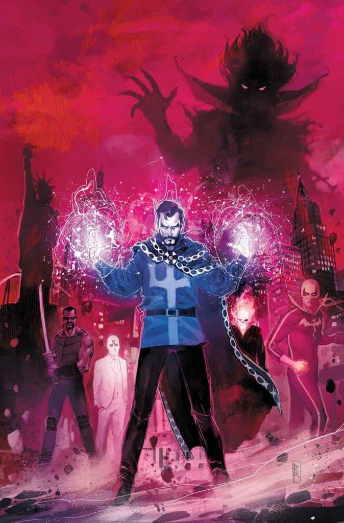 doctor strange vs mephisto