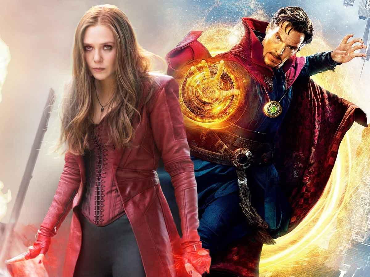 Benedict Cumberbatch y Elizabeth Olsen