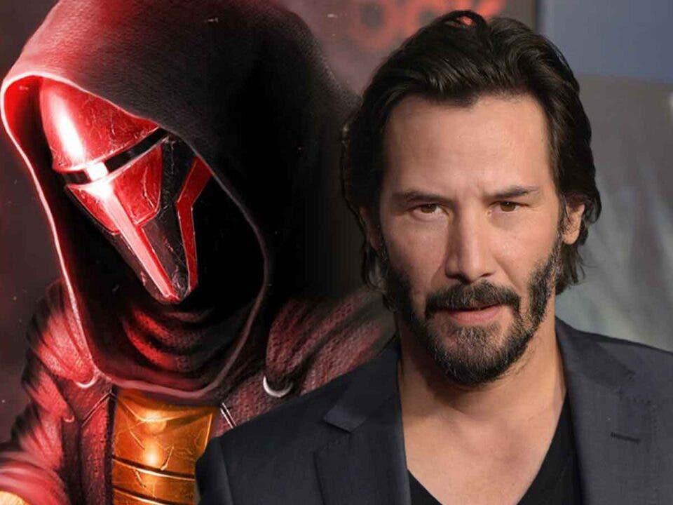Espectacular Fan Art de Keanu Reeves como Darth Revan de Star Wars