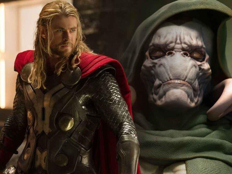 Filtran el aspecto del planeta del villano de Thor: Love and Thunder